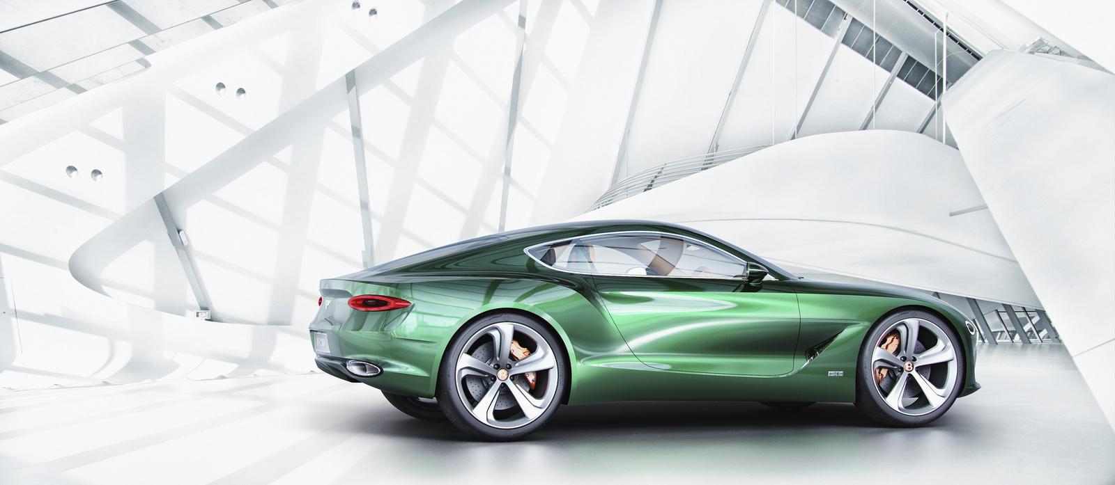 Những dòng xe trẻ trung và sang trọng là tương lai của Bentley?