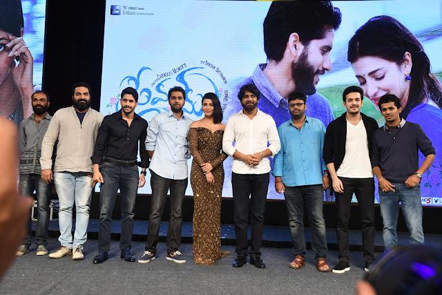 Premam Telugu movie audio launch photos