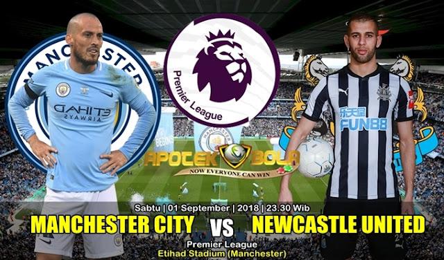 Prediksi Manchester City Vs Newcastle United 1 September 2018