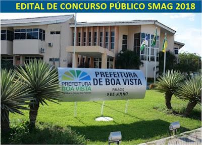 concurso SMAG 2018 - Apostila Prefeitura de Boa Vista – Professor