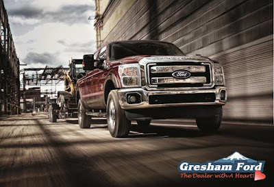 2016 Ford Super Duty Work Truck Hauling  - on Sale at Gresham Ford