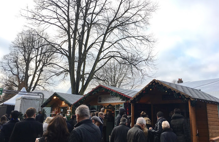 winchester christmas market food stalls