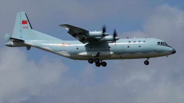 Japón intercepta un avión chino que sobrevuela mar del Este