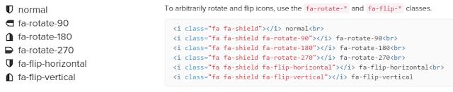 Rotated-Flipped-Font Awesome 進階使用方式整理﹍製作社群分享按鈕