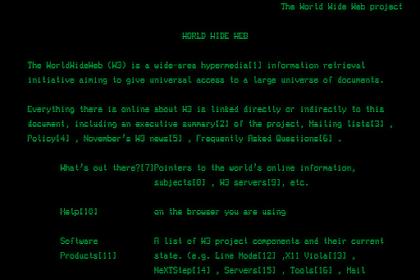 Ini Dia Website Pertama Di Dunia
