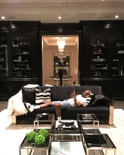 Floyd Mayweather Moves Into His Recently Acquired $26million Beverly Hills Mansion, Check Out His Wine Cellar