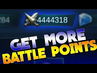 Cara Mendapatkan Battle Point Mobile Legend Gratis