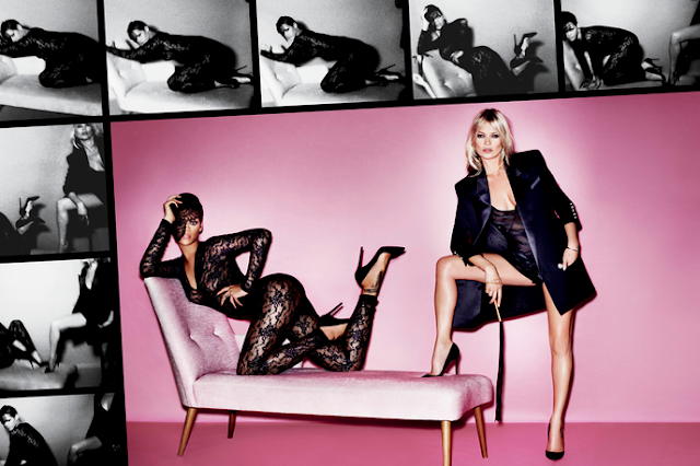 Rihanna Kate Moss hot photo shoot