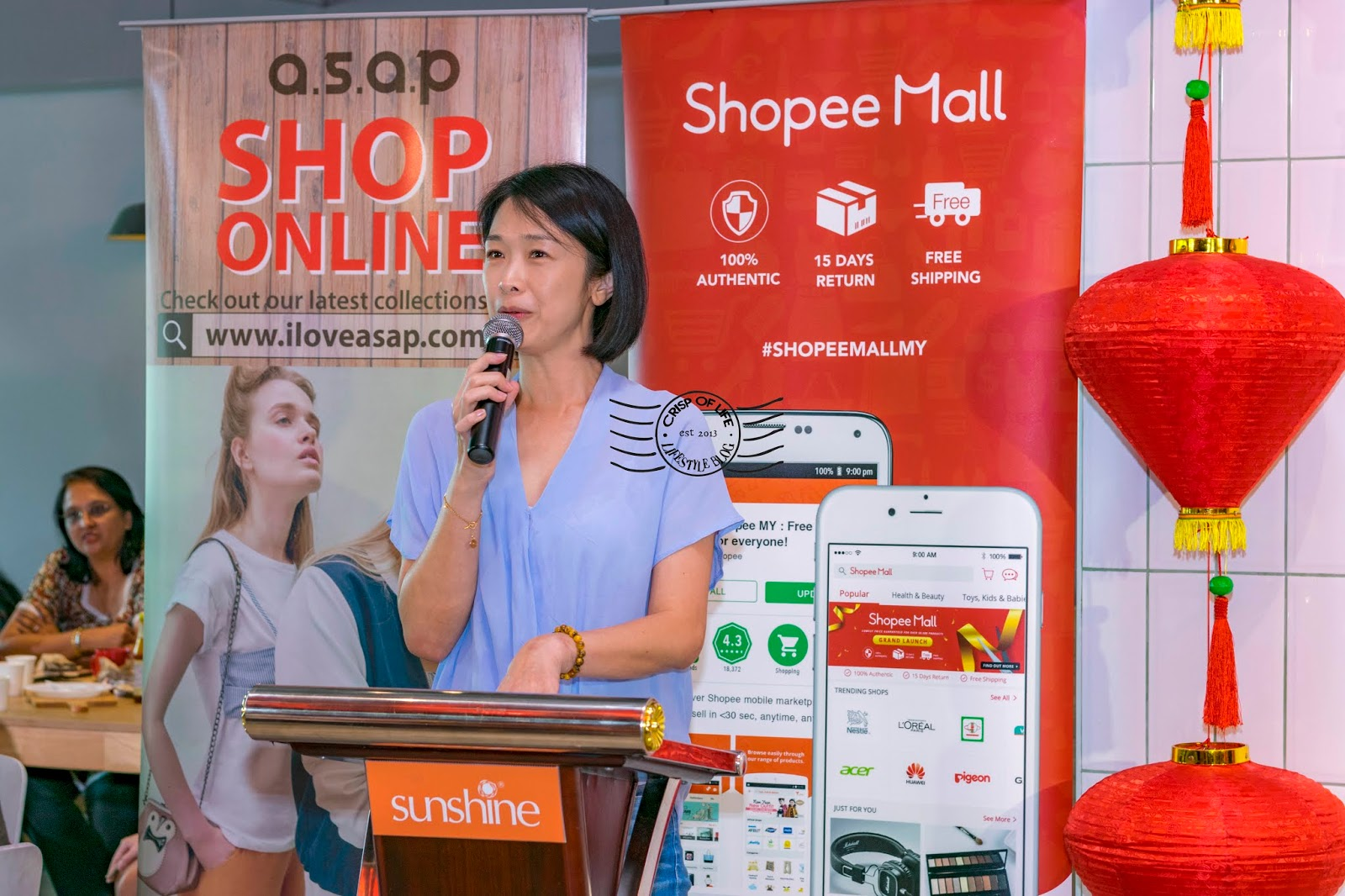 Sunshine online official store Shopee