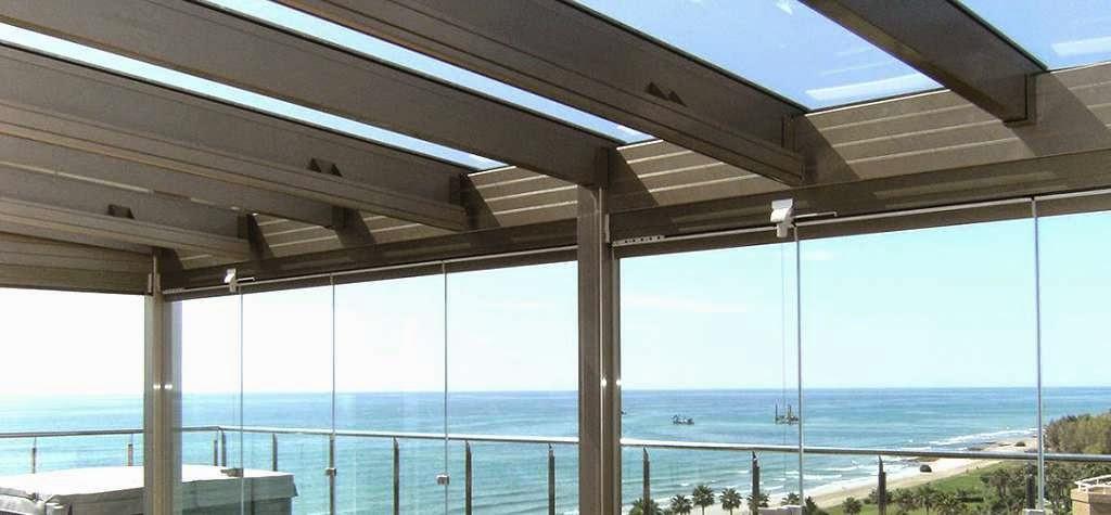 Cerramientos alicante presupuesto econ mico for Techos de metal para terrazas