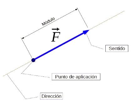 fuerza como magnitud vectorial