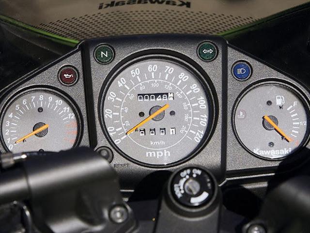 Speedometer Koso Ninja250