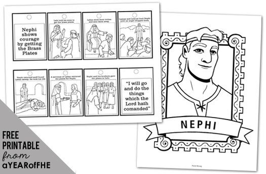 nephi coloring pages - photo#9