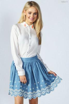 Faldas Vaqueras Cortas