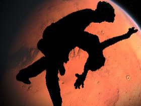 火星(素材使用・イメージ画像)