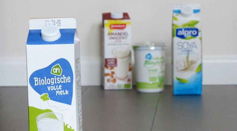 ellen, leefstijl, biologische melk, sojamelk, ongezoete amandelmelk