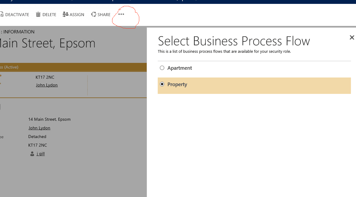 Dynamics CRM 2013 - Business Process Flows Switching Joe Gill Dynamics 365 Consultant