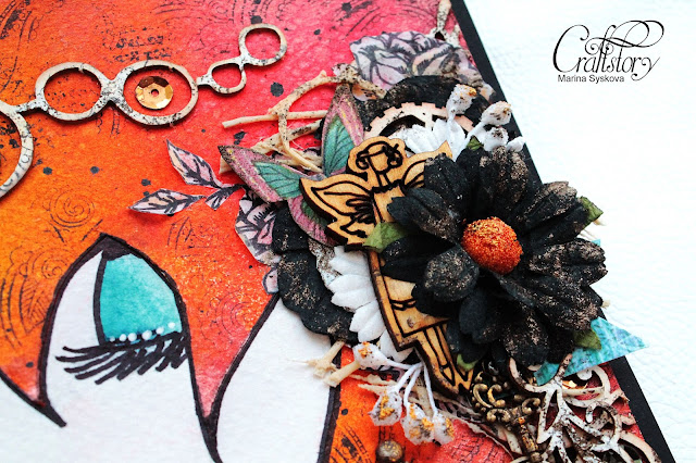 @marinasyskova #scrap #scrapbooking #mixedmedia #artbook #artjournal