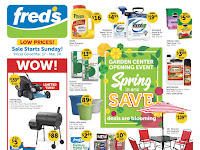 Fred's Ad Preview March 17 - March 30, 2019