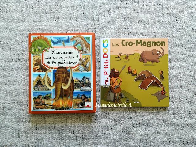 || Sélection de livres sur l'Histoire - L'imagerie des dinosaures et de la préhistoire - Mes p'tits docs, Cro-Magnon