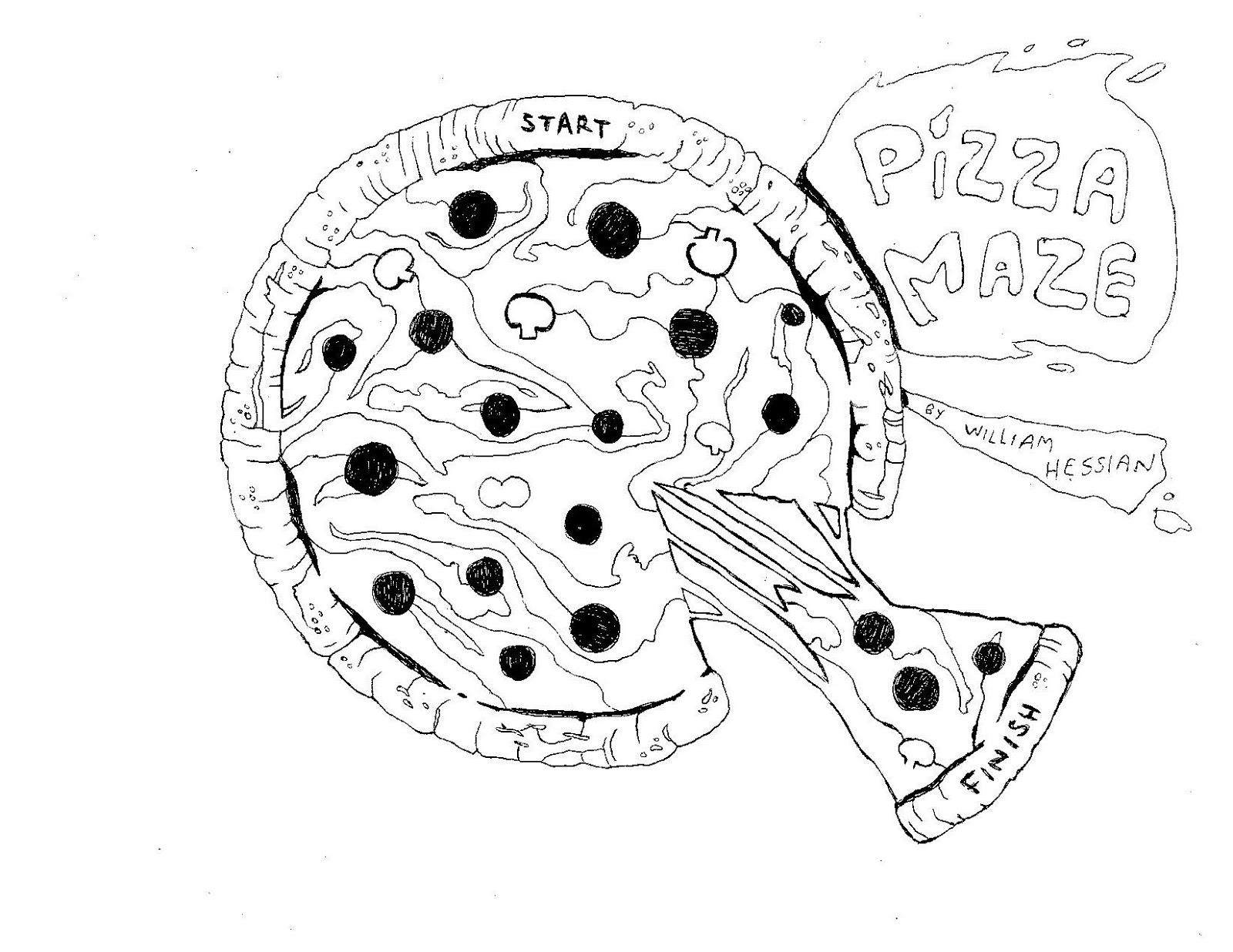 Bearded Bunny Blog: Pizza Maze