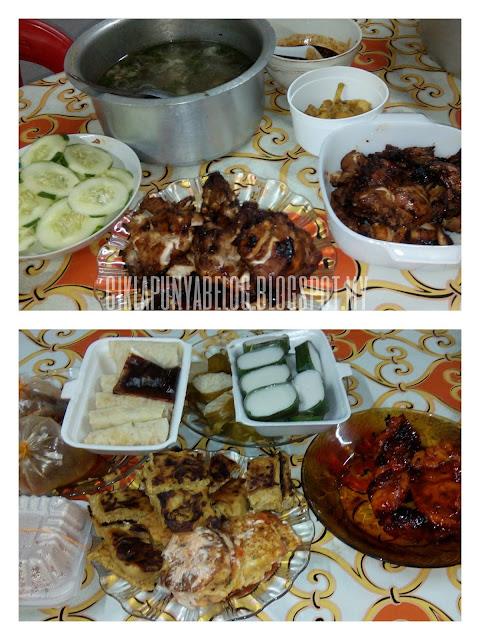 Kisah hari ke-13 puasa : Iftar di kampung.