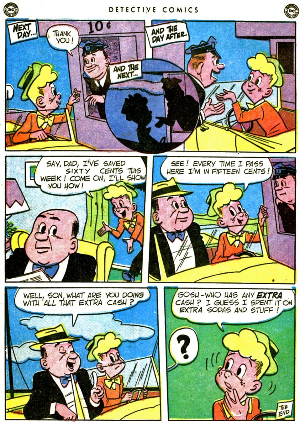 Read online Detective Comics (1937) comic -  Issue #162 - 36