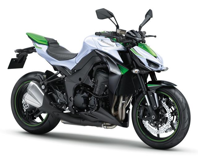 3 Warna Baru Kawasaki Z1000 Untuk Pasaran 2016
