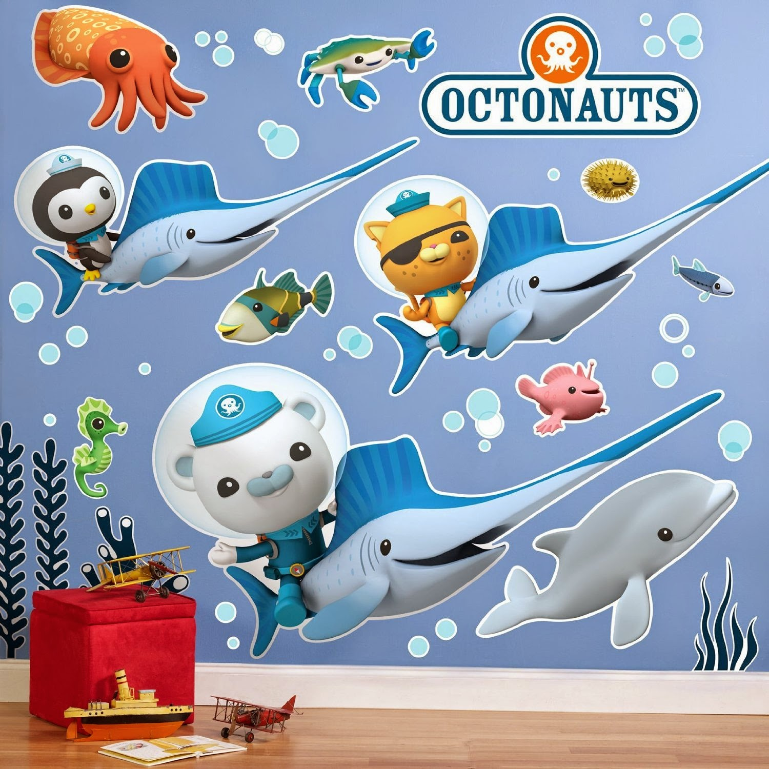 Octonauts Wall Decal