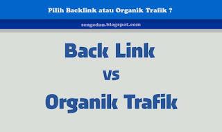 Pilih Backlink atau Organik Trafik ?