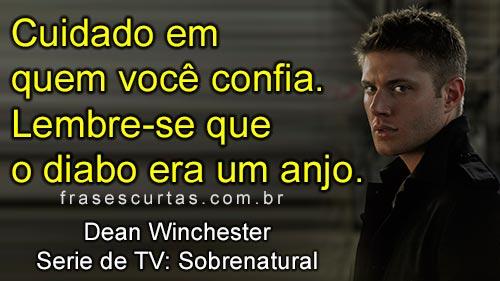 Dean Winchester - Sobrenatural