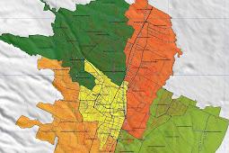 Peta Kota Malang Gambar HD Lengkap dan Keterangannya
