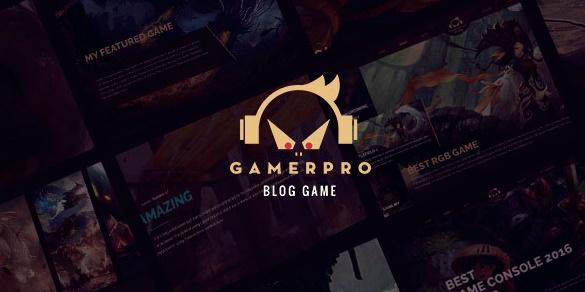 GamerPro Wordpress Teması