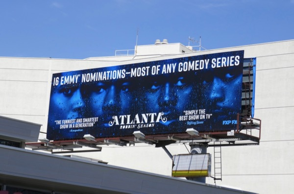 Atlanta 2018 Emmy nominee billboard