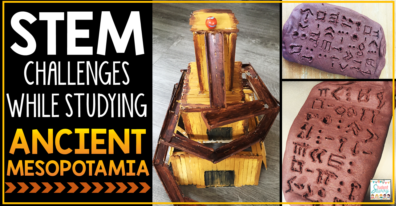 hight resolution of Ancient Mesopotamia STEM Ideas! – Student Savvy