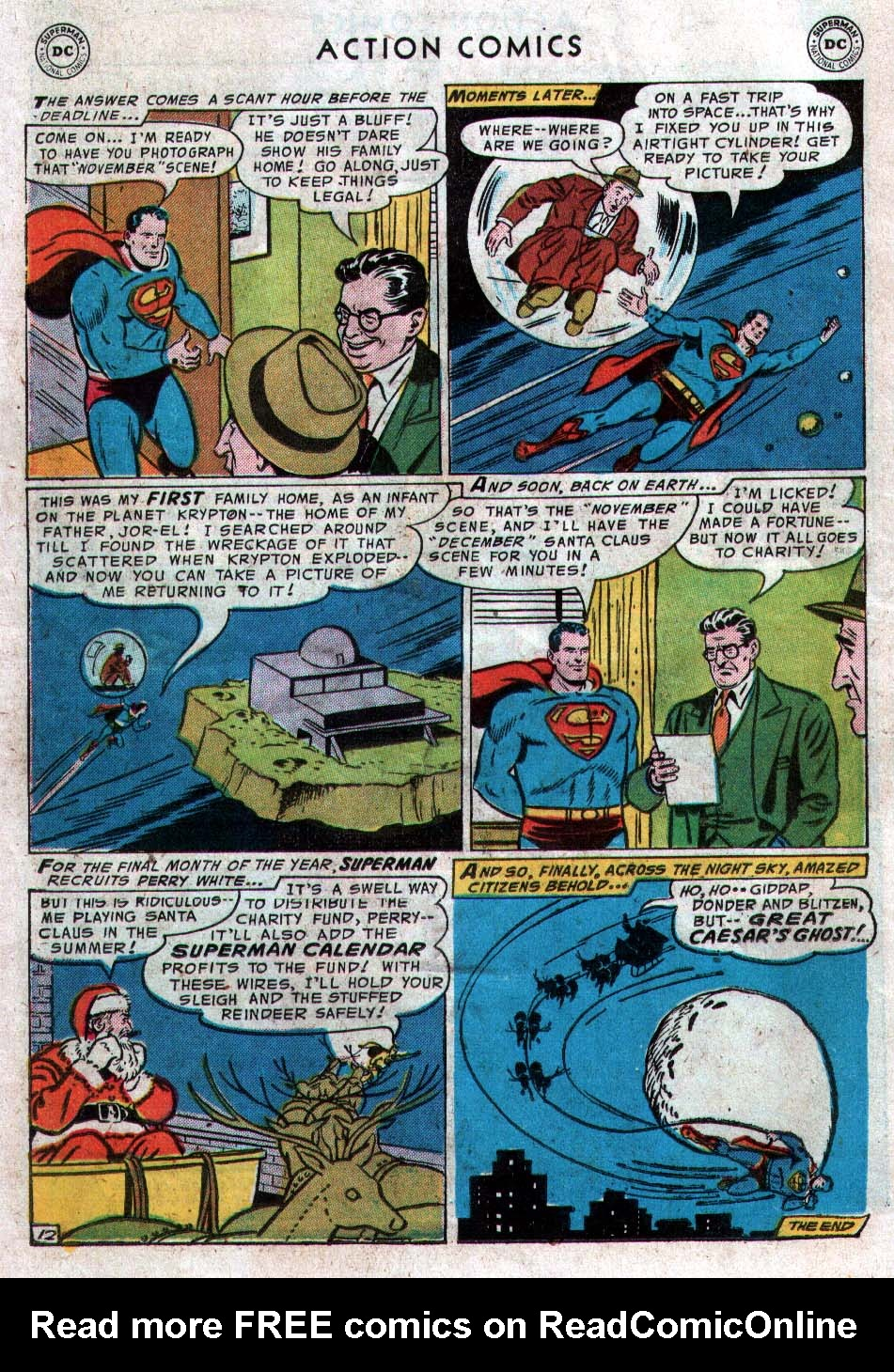 Read online Action Comics (1938) comic -  Issue #212 - 14