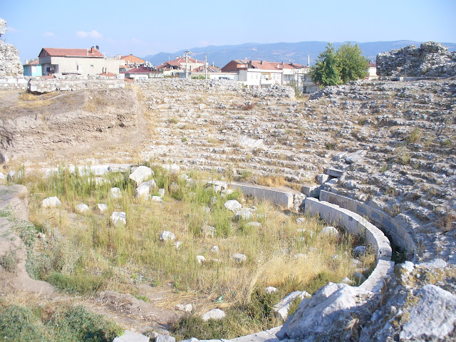 Restoration works at the Roman theatre in ancient Nikaia underway