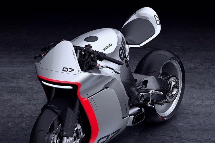 The concept of Moto's MONO RACR 2