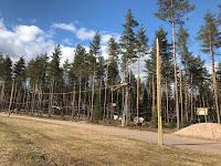 Uusi köysiseikkailupuisto avattiin Helsingin Paloheinään 1
