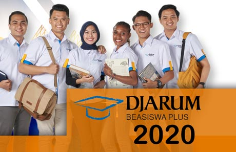 Beasiswa Kuliah 2020 Djarum Plus