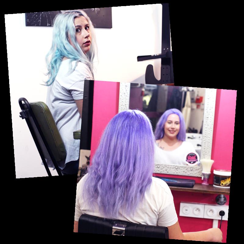 cheveux de licorne bubble factory souchka paris
