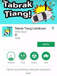 Download Game Tiang Listrik Yang Viral di Google Play Store