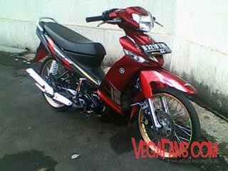 Vega ZR Modif Simple Elegan Merah 7