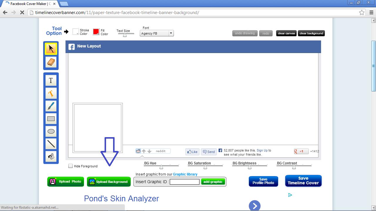 Cara Menggabungkan Foto Profil Dengan Foto Sampul Di FB Ruang