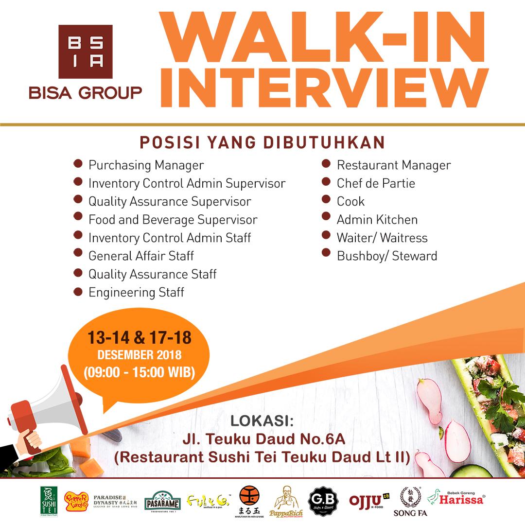 Lowongan Kerja Medan Di Bisa Group Walk In Interview Medanloker Com Lowongan Kerja Medan