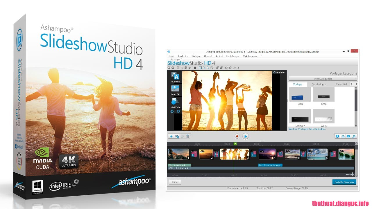 Download Ashampoo Slideshow Studio HD 4.0.9.3 Full Cr@ck