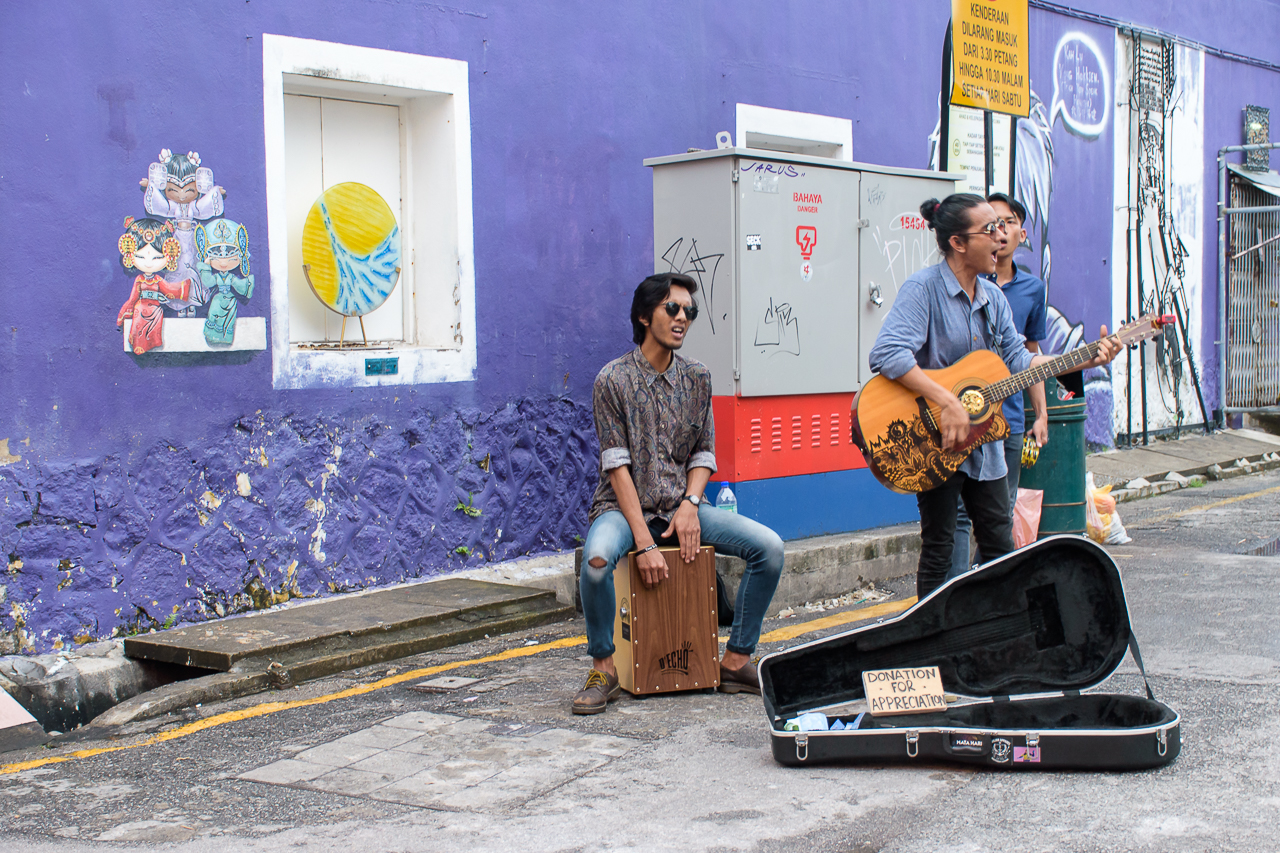 baskers and street photography penang malaysia