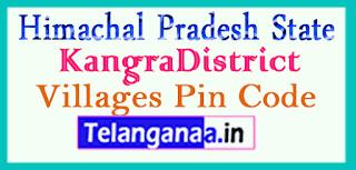 Kangra District Pin Codes in Himachal Pradesh State