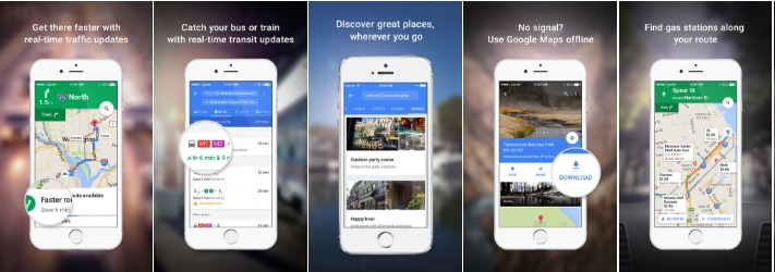 apple apps google maps