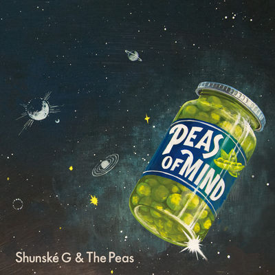 Shunske G & The Peas - Peas Of Mind - Album Download, Itunes Cover, Official Cover, Album CD Cover Art, Tracklist